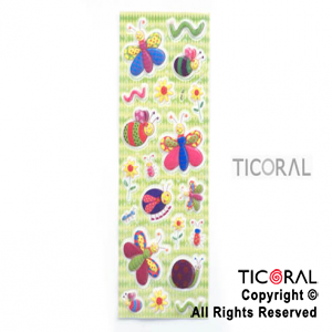 STICKER HS5129-3 PRIMAVERA RELIEVE x 12