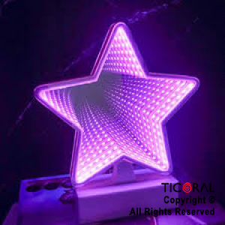 ADORNO CON LUZ LED CANDY BAR ESTRELLA HS8676 X 1