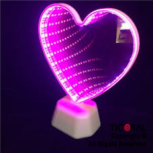 ADORNO CON LUZ LED CANDY BAR CORAZON HS8677 X 1