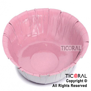 SOLID HS4343-3 BOWL ROSA 354.88ML x 8