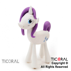 ADOR MY LITTLE PONY RARITY A. PORC FRIA x 1