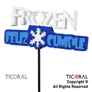 CARTEL DECO FROZEN X 3