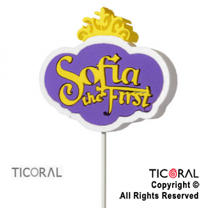 CARTEL DECO SOFIA THE FIRST X 3
