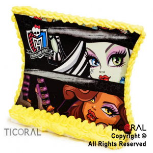 ADORNO PLACA C/GLACE MONSTER HIGH x 1