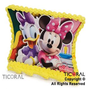 ADORNO PLACA C/GLACE MINNIE x 1