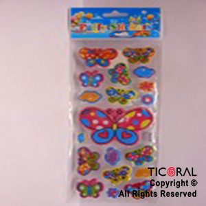 STICKER HS5400-2 MARIPOSAS x 12