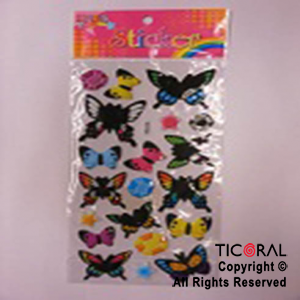 STICKER HS5280-3 MARIPOSAS x 12