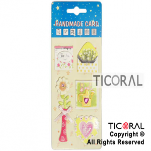 STICKER HS3551-8 X5 JARDIN x 12