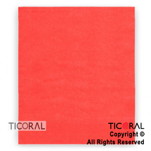 SERVILLETA 30X30 DOBLE HOJA PAPEL TISSUE LISA ROJO x 20