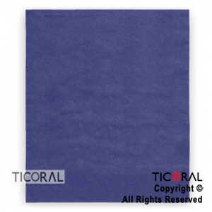 SERVILLETA 30X30 DOBLE HOJA PAPEL TISSUE LISA AZUL x 20