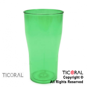 VASO COLA COLOR VERDE X 126