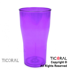 VASO COLA COLOR X 126 VIOLETA x 1