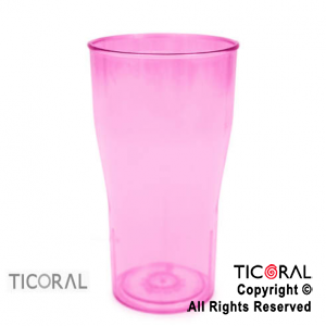 VASO COLA COLOR FUCSIA X 126