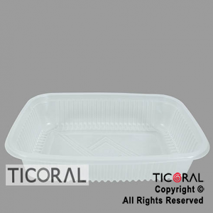 BANDEJA M107 DESCARTABLE 27CM x 18,6CM RECTANGULAR x 100