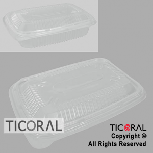 TAPA M127/107 DESCARTABLE 28,6CM x 19,8CM RECTANGULAR x 50