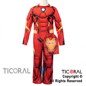 DISF IRON MAN CON MUSCULO TALLE 0 X 1