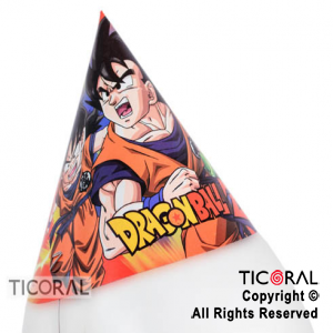 DRAGON BALL GORRO FELIZ CUMPLE x 10