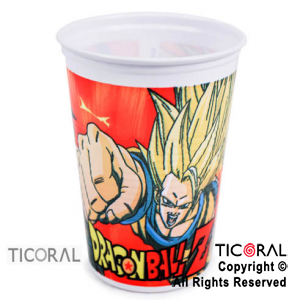 DRAGON BALL VASOS x 10