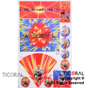 DRAGON BALL CANDY BAR ARMABLE x 1