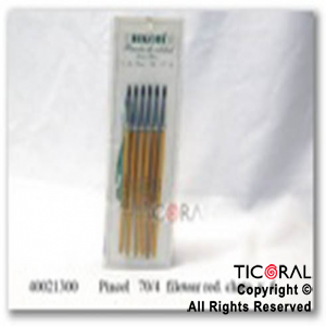 PINCEL S/70/4 FILETEAR RED.Y CHATO x 6