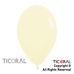 GLOBO S R12 FASHION 120 AMARILLO PASTEL x 50