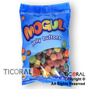 GOLO GOMA MOGUL JELLY BUTTONS (1KG) X 1