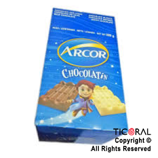 GOLO CHOCOLATE ARCOR LECHE 20 X 40 UNID (8GS C/U)  X 1