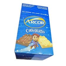 GOLO CHOCOLATE ARCOR LECHE X 40 UNID (8GS C/U)  X 1