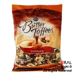 GOLO CARAMELO BUTTER TOFFEES RELLENO CHOCOLATE X 822GR x 6