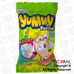 GOLO YUMMY PIECITOS ACIDOS  X12 SOBRES X 30gr