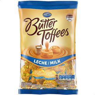 GOLO CARAMELO BUTTER TOFFEES RELLENO LECHE/MILK X 825GR x 6