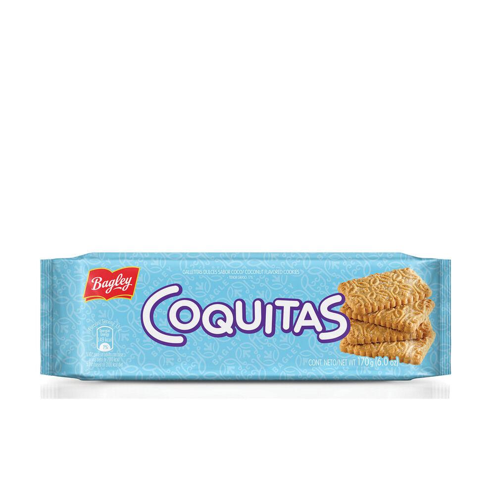 GALLETITA COQUITAS 1 paquete x 170grs x 1