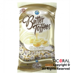 GOLO CARAMELO BUTTER TOFFEES RELLENO CHOCOLATE BLANCO X 822GR x 6
