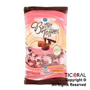 GOLO CARAMELO BUTTER TOFFEES RELLENO AGUILA X 822GR x 6