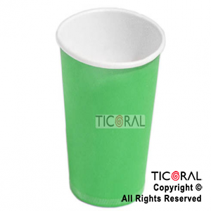 SOLID HS449-5 VASO VERDE 266ML x 8