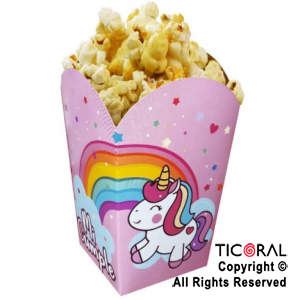 UNICORNIO ARCO IRIS POP CORN  X 1