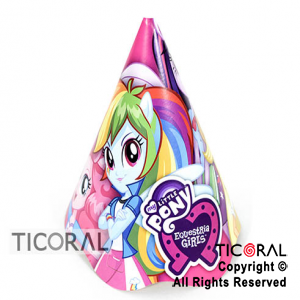 LITTLE PONY GORRO x 8
