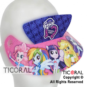 LITTLE PONY VISERA x 8