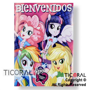 LITTLE PONY AFICHE x 1