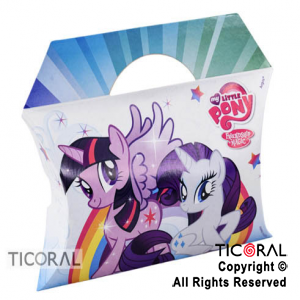 LITTLE PONY CAJA SORPRESA x 8