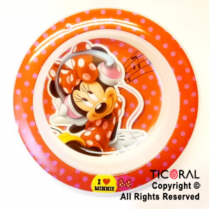 MINNIE BOWL CEREALERO x 1