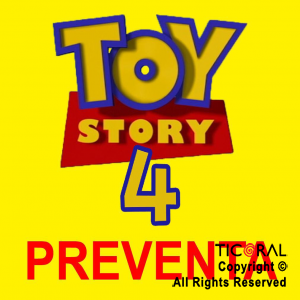 TOY STORY 4 MANTEL x 1