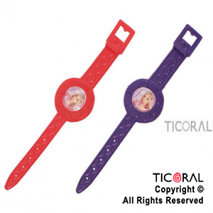 BARBIE MINI RELOJ PULSERA x 6