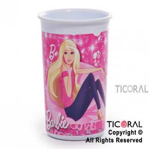 BARBIE VASO CHICO x 1
