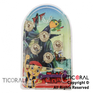 JAKE PIRATAS MINI PINBALL x 4