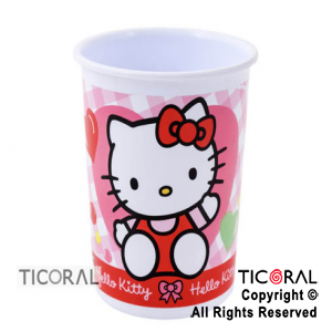 KITTY VASO CHICO x 1
