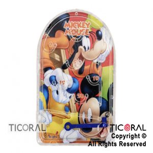 MICKEY MINI PINBALL x 4