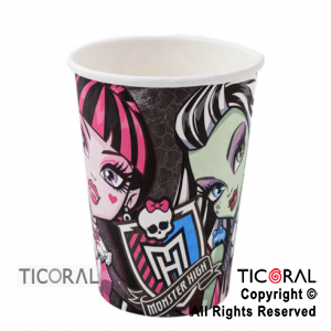 MONSTER HIGH VASO COTILLON x 10