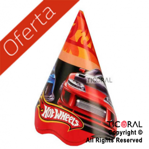 HOT WHEELS GORRO x 8