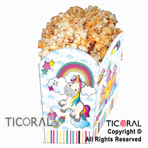 UNICORNIO POP CORN  X 1